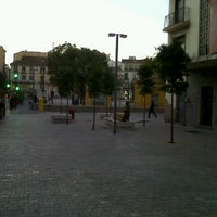 Photo taken at Plaza de Maria Guerrero by Federico d. on 1/30/2012