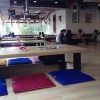 Photo taken at Da Sa Rang Korea BBQ Restaurant by Kai H. on 2/23/2012