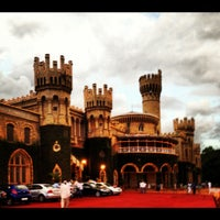 Photo taken at Bangalore Palace by Sonia R. on 7/12/2012