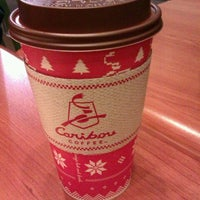 Photo taken at Caribou Coffee by Becca T. on 12/23/2011