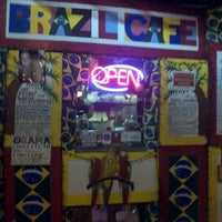Photo taken at Brazil Fresh Squeeze Cafe by Yoeau S. on 11/18/2011