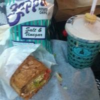 Photo taken at Potbelly Sandwich Shop by Kristie V. on 8/12/2011
