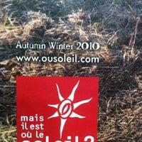 """Photo taken at Boutique : """"Mais Il Est Où Le Soleil"""" by Julien D. on 12/9/2011"""