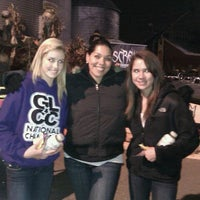 Photo taken at Statesville Haunted Prison by Kat M. on 10/21/2011