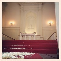 Photo taken at Robert Carr Chapel by Tracy A. on 4/28/2012