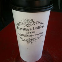 Photo taken at Roasters Coffee Bar by Scott D. on 10/27/2011