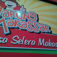 Photo taken at Warung Makassar by Wakhyu S. on 1/18/2012