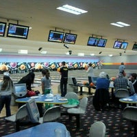 Photo taken at Andover Lanes and Lounge by Aaron P. on 11/19/2011