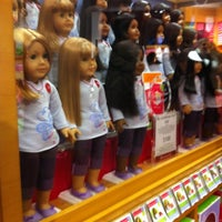 Photo taken at American Girl Place by Connie C. on 11/6/2011