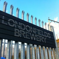 Photo taken at London Fields Brewery by snarkle on 8/28/2011