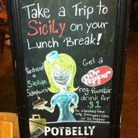 Photo taken at Potbelly Sandwich Shop by Henry V. on 11/3/2011