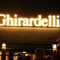 Photo taken at Ghirardelli Ice Cream & Chocolate Shop by Richard K. on 10/3/2011