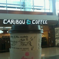 Photo taken at Caribou Coffee by John on 10/22/2011