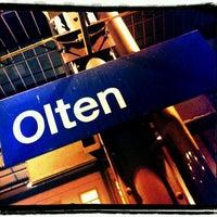Photo taken at Bahnhof Olten by Jürg B. on 12/7/2011