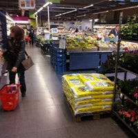 Photo taken at Delhaize by Alexandre R. on 5/9/2012