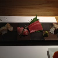 Photo taken at Sushi Azabu by Albert C. on 9/1/2012