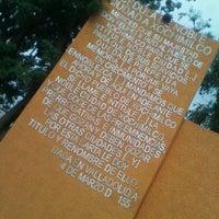 Photo taken at Rotonda De Los Personajes Ilustres De Xochimilco by Jaime L. on 6/23/2011