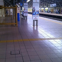 Photo taken at KTM Line - Kepong Sentral Station (KA07) by Ng Cheow Kwang on 9/9/2012