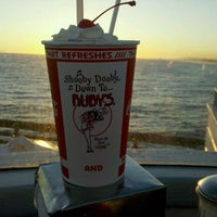Photo taken at Ruby's Diner by Mark B. on 3/22/2012