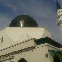 Photo taken at Masjid At-Taqwa by Nazmi N. on 3/20/2012