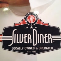 Photo taken at Silver Diner by Corey D. on 3/24/2012