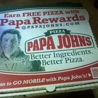 Photo taken at Papa John's Pizza by Евгений А. on 4/12/2012