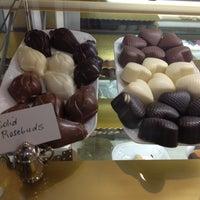 Photo taken at Belgique Chocolatier by danica k. on 5/27/2012