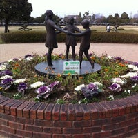 Photo taken at 美薗中央公園 by hiroyuki k. on 2/24/2012