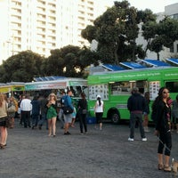 Photo taken at Santa Monica Food Truck Lot by Carrie Z. on 7/24/2012