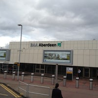 Photo taken at Aberdeen International Airport (ABZ) by Rene L. on 3/9/2012