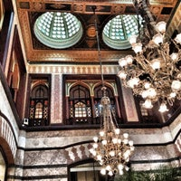 Photo taken at Pera Palace Hotel Jumeirah by erdem p. on 8/31/2012
