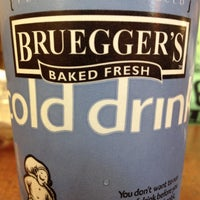 Photo taken at Bruegger's by Phil S. on 8/16/2012