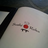 Photo taken at Sushi Roku by George A. on 7/21/2012