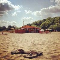 Photo taken at Bradford Beach by ashleyyyy! ✨✨ on 7/16/2012