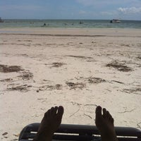 Photo taken at Fort Myers Beach by DeAnna A. on 6/13/2012