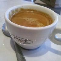Photo taken at Fran's Café by Gil B. on 11/14/2011