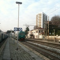 Photo taken at Stazione Seregno by Riccardo M. on 12/30/2010