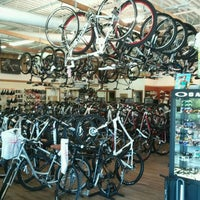 Photo taken at Richardson Bike Mart by Adam S. on 8/12/2011