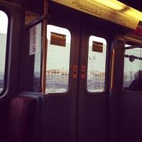 Photo taken at Fawdon Metro Station by Rob S. on 1/30/2012