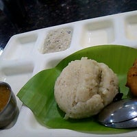 Photo taken at Saravana Bhavan by 2pong on 2/29/2012