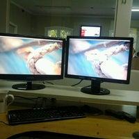Photo taken at MegaMidia Group by Gildecio E. on 7/17/2012