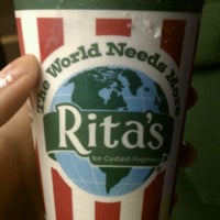 Photo taken at Rita's Water Ice by Alexa B. on 3/21/2012