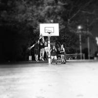 Photo taken at Pertama Basketball Court by Keat L. on 6/20/2012