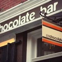 Photo taken at Chocolate Bar by David B. on 2/14/2012