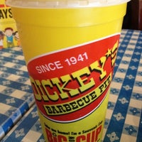 Photo taken at Dickey's Barbecue Pit by Brian on 8/7/2012