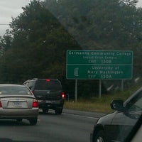 Photo taken at I-95 Exit 130: VA 3 / Plank Rd by Anthony A. on 10/3/2011
