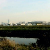 Photo taken at 鶴見川青少年サイクリングコース始点 by あき on 11/13/2011
