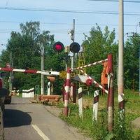 "Photo taken at Переезд ""Новодачная"" by adrenalinfresh on 6/25/2012"