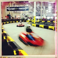 Photo taken at Pole Position Raceway by Mary Elise Chavez on 7/14/2012