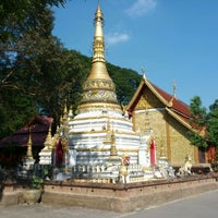 Photo taken at Wat Chai Mongkol by Mummy F. on 12/6/2011